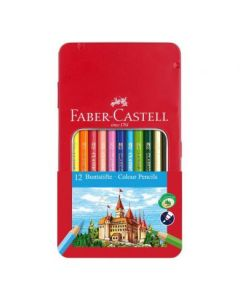 Set 12 crioane colorate Faber Castell