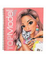 Set Carte de colorat interactiva, Top model, Create your kitty
