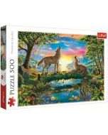 Puzzle Lupi - 500 piese