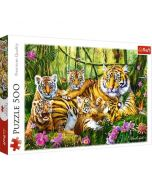 Puzzle Tigrii - 500 piese